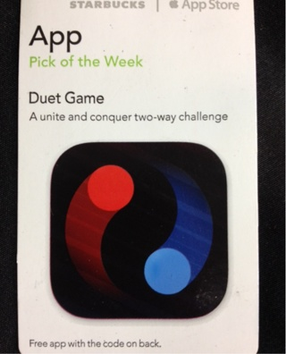 Duet game - Scannable iTunes App