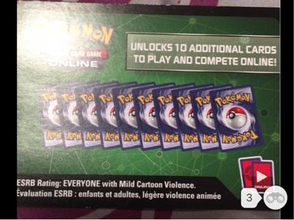 Pokémon trading card