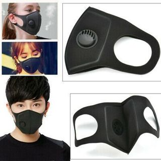 Adult Air Purifying Face Mask Cover Cycling Anti Dust Multi Layer Mouth Filter
