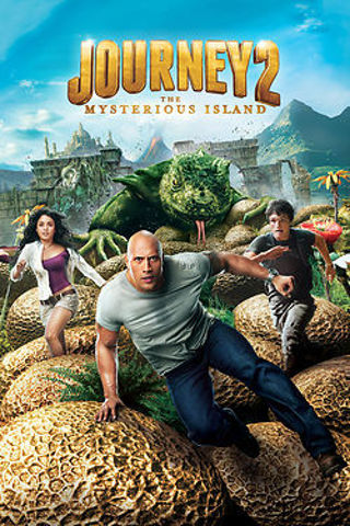 JOURNEY 2 The Mysterious Island - HD - Movie Code ONLY - MOVIES ANYWHERE or VUDU