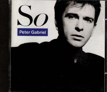 So - CD by Peter Gabriel