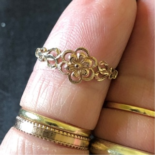 10kt Yellow and Rose Gold Ring
