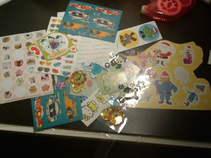 Preowned sticker lot