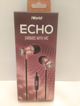 NEW, iWorld ECHO Earbuds with Mic