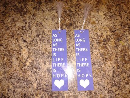 **** Lot/Set of ( 2 ) Encouraging Bookmarks With Tassels ****