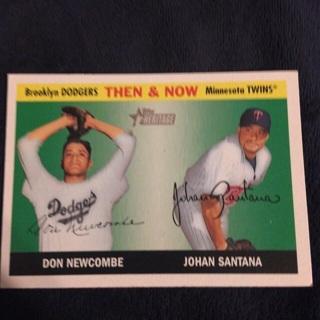 Johan Santana/Don Newcombe