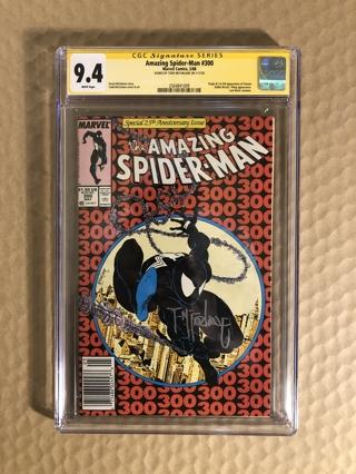 Amazing Spider-Man # 300 CGC 9.4. Newsstand. Origin and 1st Full app of Venom.