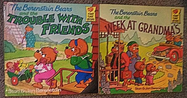 2 Berenstain Bears Books
