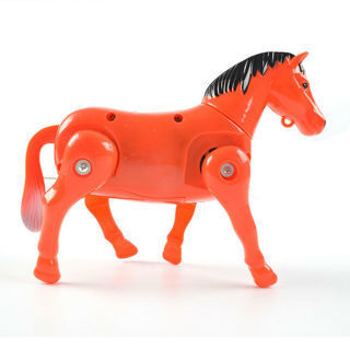 Useful Electric Horse Pony Rotating Toy Kids Around Pile Developmental Gift Braw