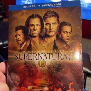Supernatural season 15 digital HD copy