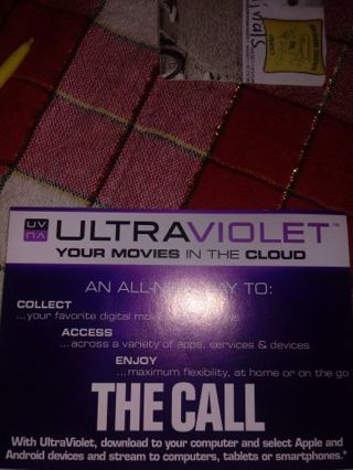 The Call VUDU Code