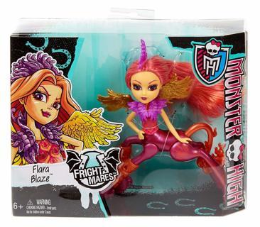 Monster High Flara Blaze Fright Mares