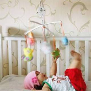 35 Song Rotary Baby Mobile Crib Bed Toy Clockwork Movement Music Newborn Toys