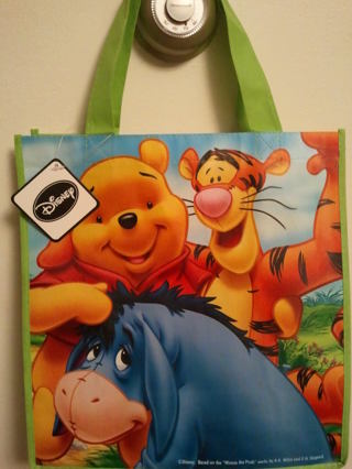 ~~LO?OK~~ Winnie the Pooh and Friends reusable tote ~~LO?OK~~