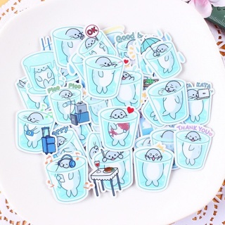 ✅ Sea Lion Seal Kawaii High End Sticker Flakes BRAND NEW set of 10 Random Pick ✅