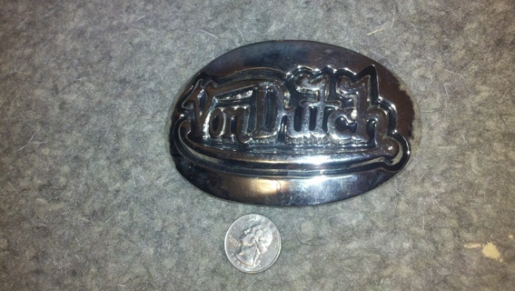 Knockoff Von Dutch Belt Buckle