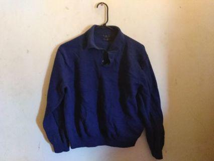 Estate Merino Club Room Sweater Size Small