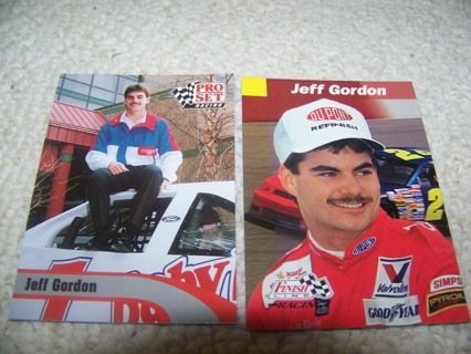Free Jeff Gordon 1992 Rookie Card And 1993 Rookie Of The
