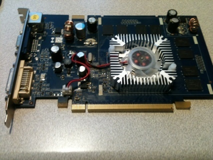 GeForce 7600GS, 512MB DDR2, PCI-E