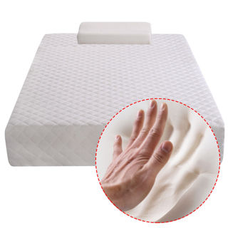 "NEW! Twin Size 10"" Memory Foam Mattress Bed Pad Topper 1 FREE Pillow. FREE SHIP!"