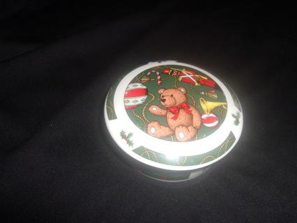 Vintage Studio Nova Trinket Jar--Christmas Soldier