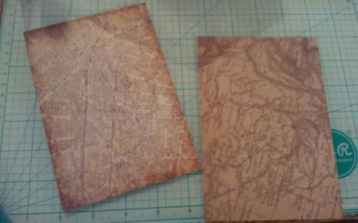Two 4.5x6.5 cardstock sheets