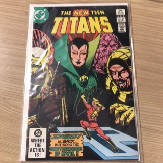 teen titans comics from 1983  By Detective Comics (DC)
