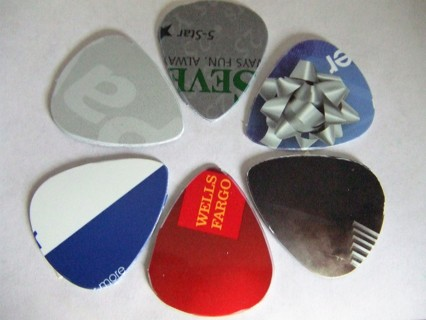 6 Unique Upcycled Guitar Picks