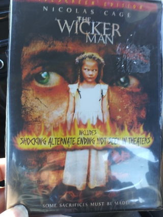 The Wicker Man DVD Factory sealed