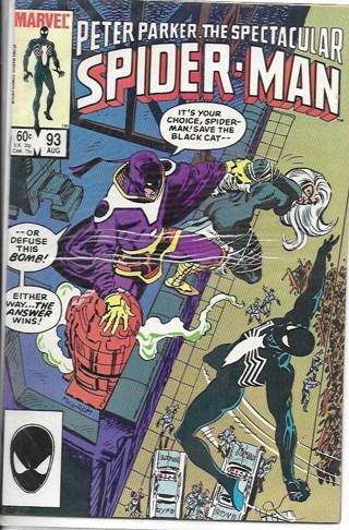 Spider-Man #93 Peter Parker,The Spectacular