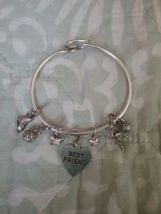 》》 Silver Charm Bracelet & Charms 《《