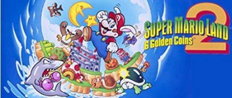 1 VIDEO GAME : Super Mario Land 2: 6 Golden Coins - 3DS [Digital Code] Nintendo