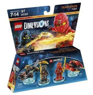 NEW Ninjago Team Pack LEGO Dimensions LEGO Toy Figures FREE SHIPPING