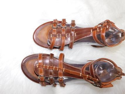 Ladies X-Appeal Sandals Zip Back Open front Shoes Womens 9