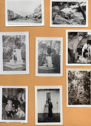 Lot of 8 Vintage Black & White Photos as shown Lot #5
