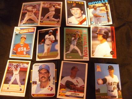 Flat Rate Envelope Mix Baseball Cards
