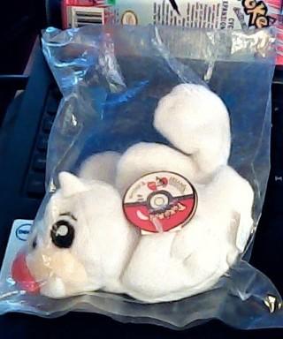 Pokemon~Plush~Seel #86 KFC 1998~Sealed~Special Edition Nintendo