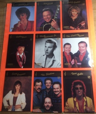 9 Country Classics 1992 Cards!