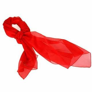 SERENITA Chiffon scarf women - Sheer lightweight