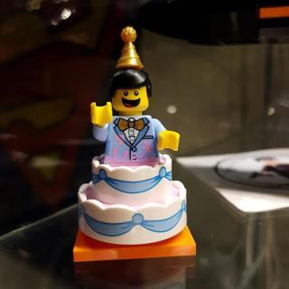 New Cake Guy Minifigure Building Toy Custom Lego