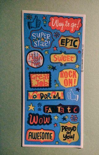 Vintage Hallmark Stickers
