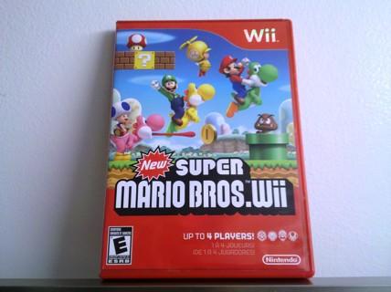 New Super Mario Bros. Wii  E  U  C - Complete