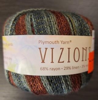 NEW - Plymouth Vizions Yarn - retail $8.99