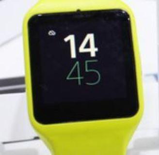 NEW Apple Watch 3 Smart Watch Silicone Sport Strap & Case Housing NEON YELLOW 38mm