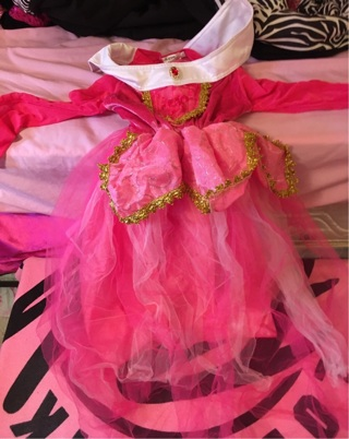 Princess Aurora costume dress size 4t