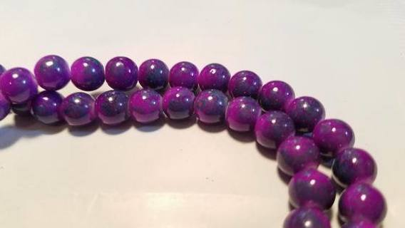 8mm glass beads