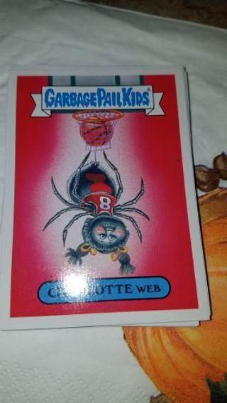 GARBAGE PAIL kid card