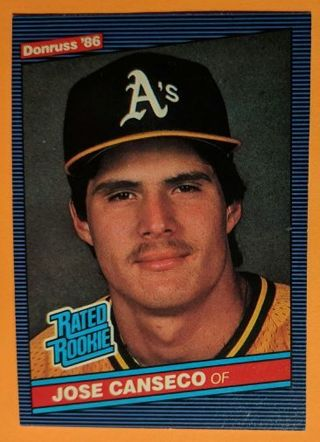 Free Jose Canseco Rookie Card Sports Trading Cards