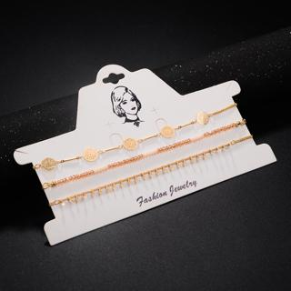 DANZE Bohemia Beaded Choker Necklace sets for Women Indian Metal Hollow Necklace & Pendants Collie