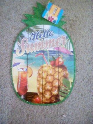 Piapple summer  sign
